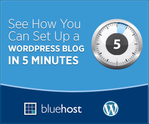 start wordpress blog minutes