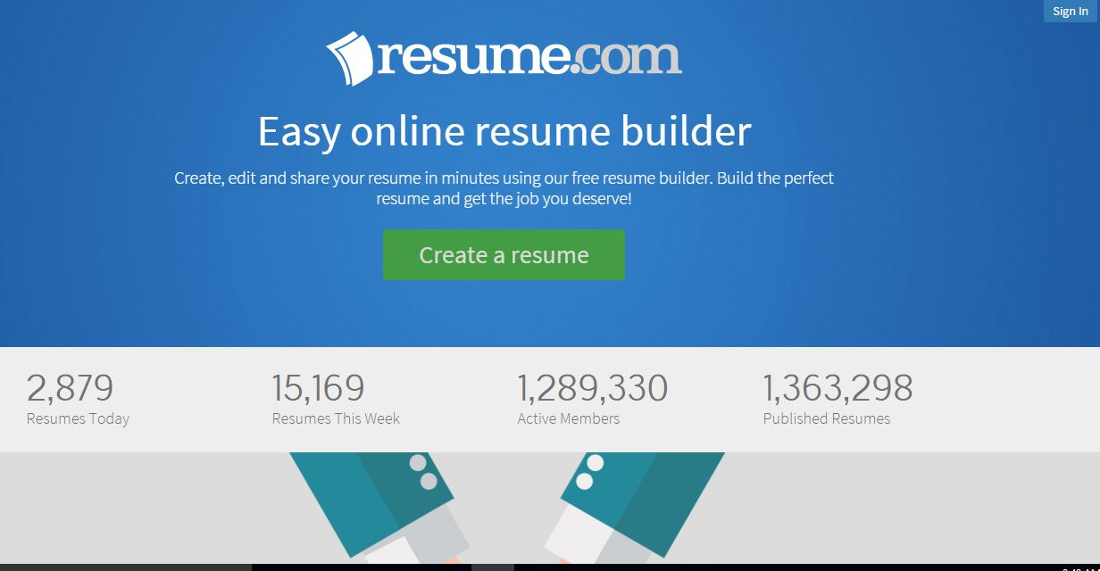 5 best sites to create cvresume online for free ashik tricks best sites to create cv online for free yelopaper Choice Image