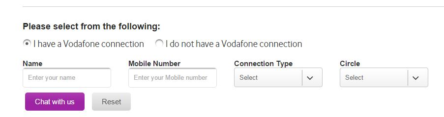 vodafone live chat and flirt