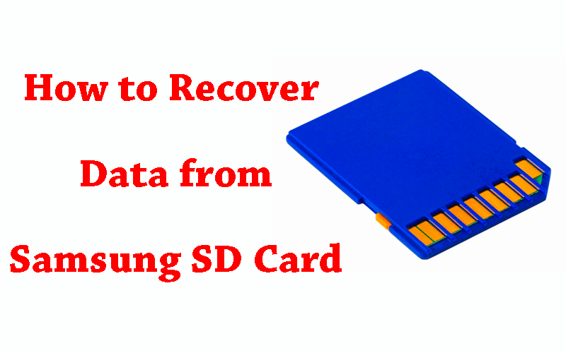 How to Recover Data from Samsung SD Card on Mac