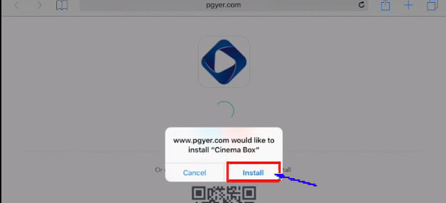 cinemabox app for iPhone